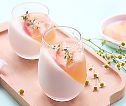 蜜桃奶冻的做法