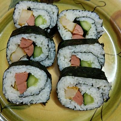 寿司的做法 步骤11