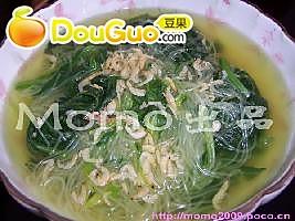 虾皮粉丝菠菜汤