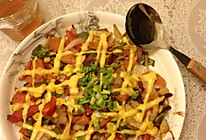 火腿牛肉焗饭的做法