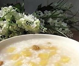 苹果白米粥的做法