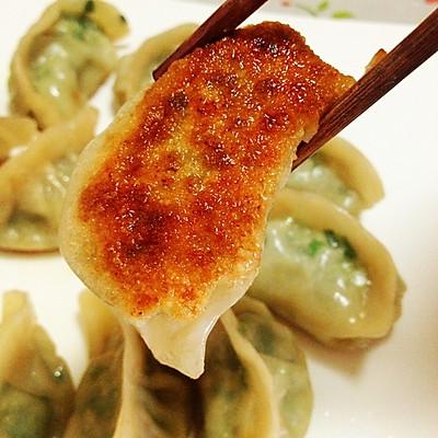 韭菜饺子生煎