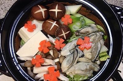 牡蛎味噌锅(2-3人份)