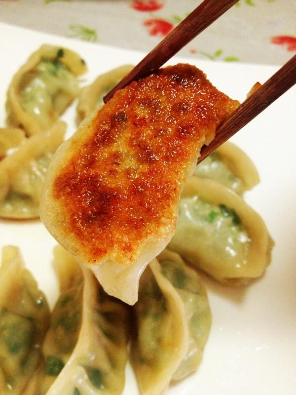 韭菜饺子生煎的做法