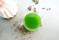 菠菜汁#春天不减肥,夏天肉堆堆#的做法