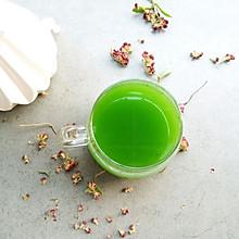 菠菜汁#春天不减肥,夏天肉堆堆#