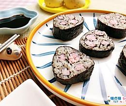宝宝主食系列~小肉垫寿司的做法