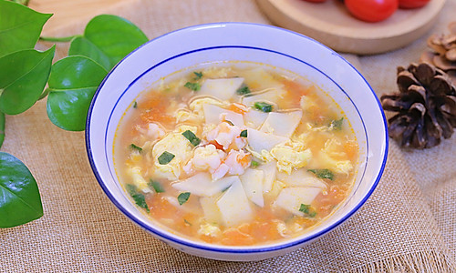饺子皮面片汤 宝宝辅食食谱的做法