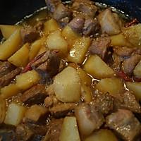 豆角炖花肉的做法图解4