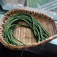 夏日凉菜--姜汁蒜泥豇豆的做法图解1