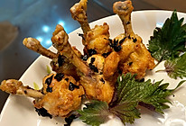 中西合璧的盐焗蒜蓉鸡翅根的做法