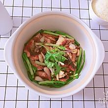 姜葱鱼腩煲