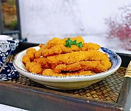 #一道菜表白豆果美食#黄金炸鸡柳的做法