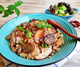 完美拯救剩饭的『腊肠香菇油饭』的做法