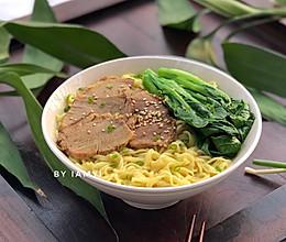 咖喱汁牛肉面的做法
