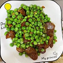 豌豆粒炒腊肠