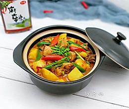 土豆鸡火锅,一道可以两吃的菜的做法