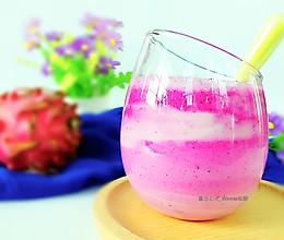 浪漫一夏【梦幻火龙果酸奶】的做法