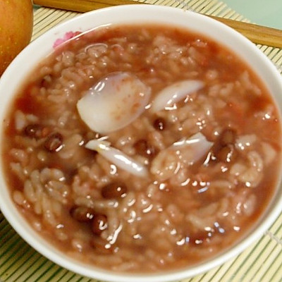 红豆百合粥