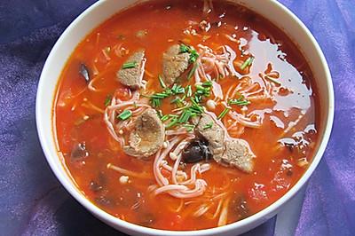 番茄猪肝汤