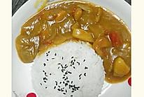 【咖喱土豆鸡肉饭】的做法