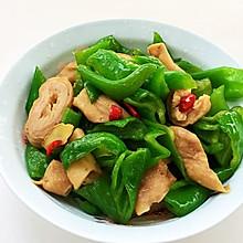 #童年不同样,美食有花样#菜椒炒肥肠