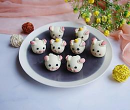 #精品菜谱挑战赛#卡通小兔兔汤圆(巧克力馅)的做法