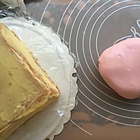 公主翻糖蛋糕的做法图解22