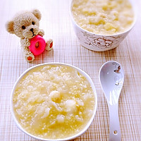 银耳莲子百合小米粥的做法图解7