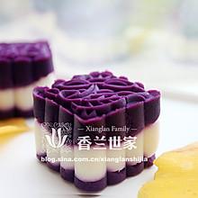 紫薯山药糕 优雅的美食 -----香兰世家
