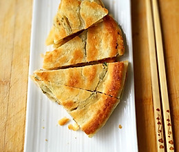 酥脆的花椒叶油旋饼的做法