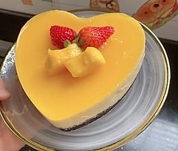 不用烤箱的芒果酸奶慕斯蛋糕的做法