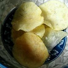 无油薯片(微波炉版)