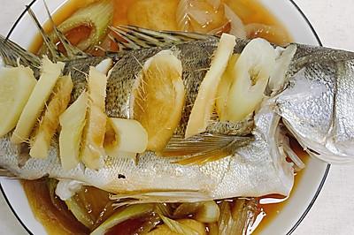 清蒸海鲈鱼孕妇产妇最佳菜肴
