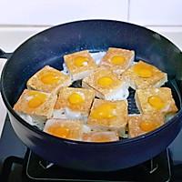 #憋在家里吃什么#茄汁鹌鹑蛋酿豆腐的做法图解7