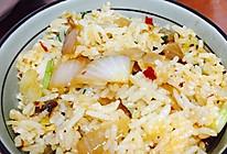 肉末洋葱焖饭的做法