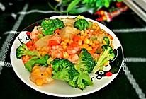 虾仁炒年糕的做法