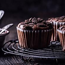 一做就上瘾的奥利奥巧克力戚风杯子蛋糕