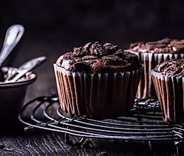 一做就上瘾的奥利奥巧克力戚风杯子蛋糕的做法