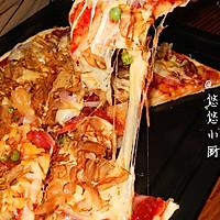 轻舞飞扬~自制披萨(含披萨皮,披萨酱制作方法)的做法图解11