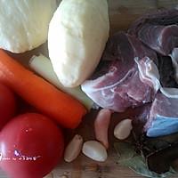 西红柿炖牛腩-冬季暖身的做法图解1