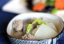 冬瓜汆丸子——假期给宝宝做的美食之一的做法