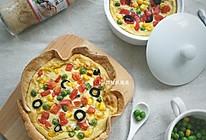 素食【山药乳蛋饼】#丘比培煎芝麻沙拉汁#的做法