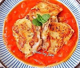 茄汁配嫩滑鸡扒的做法