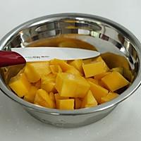 芒果蛋糕卷的做法图解7