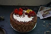 巧克力核桃水果蛋糕的做法