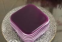 紫薯椰汁千层马蹄糕的做法