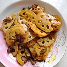 脆脆莲藕炒肉