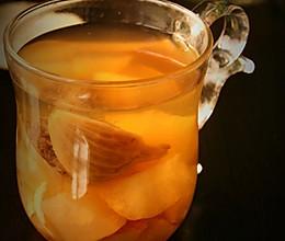 冶感冒咳嗽快速方法,好喝汤水---无花果梨水的做法