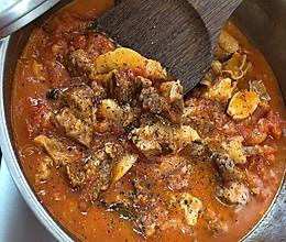 黑胡椒红烩牛腩(特浓版)的做法